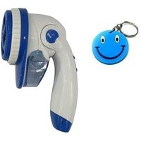Fabric Shaver,Clothes Shaver With Free Smiley Key Chain.