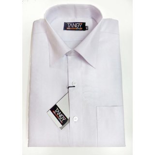 White Self Lining Regular Fit Shirt
