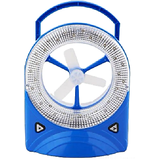 good quality jy super co. Rechargeable Fan with LED Light bnm.