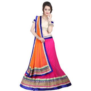 Anu Clothing Rani Net Lehenga