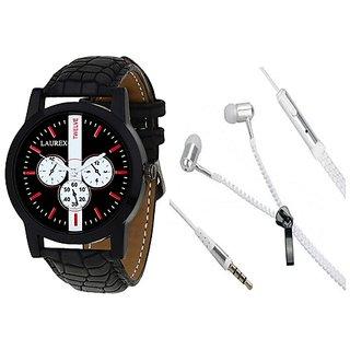 Laurex Analog Round Casual Wear Watches for Men-lx-061-003