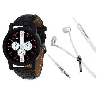 Laurex Analog Round Casual Wear Watches for Men-lx-61-er-003