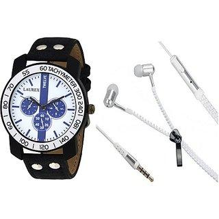Laurex Analog Round Casual Wear Watches for Men-lx-67-er-03