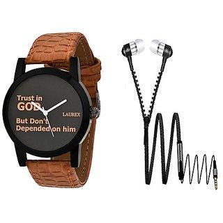 Laurex Analog Round Casual Wear Watches for Men-lx-101-er-06