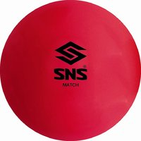 SNS MATCH SMOOTH FLURO PINK Hockey Balls - Box of 6.