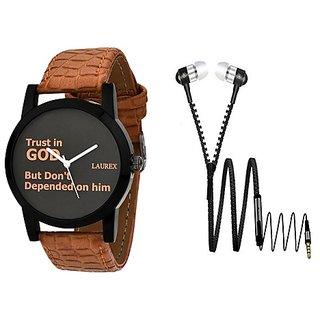 Laurex Analog Round Casual Wear Watches for Men-lx-111-er-006