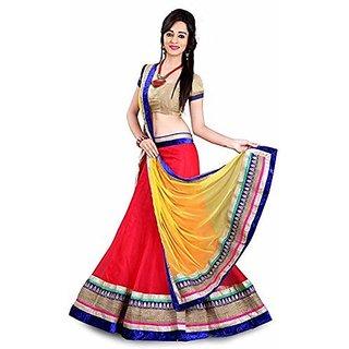 Desire Womens Net Lace Lehenga Choli