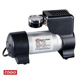 Coido -6218 Metal Body Car Auto 12V Electric Air Pump Compressor Inflator