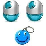 Godrej Aer Twist Gel Cool Surf Blue+ Cool Surf Blue With Free Smiley Key Chain.