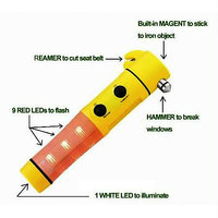 Multifunction Emergency Car Tool Kit - 3781892