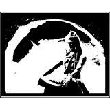 POP ART  : LORD SHIVA BLACK AND WHITE