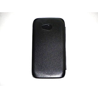 Karbonn Titanium S1+ Flip Cover Black available at ShopClues for Rs.169