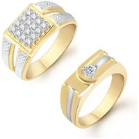 Sukkhi Royal 2 Piece Ring Combo for Men