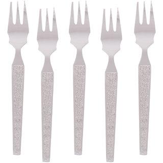 Kishco Stainless Steel Parma Fruit Fork 6 Pcs Set