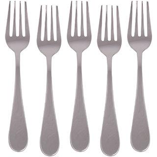 Kishco Stainless Steel Pristine Dessert Fork 6 Pcs Set
