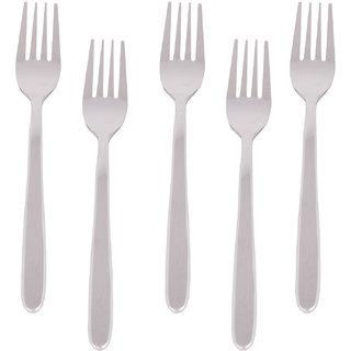 Kishco Stainless Steel Vale Dessert Fork 6 Pcs Set