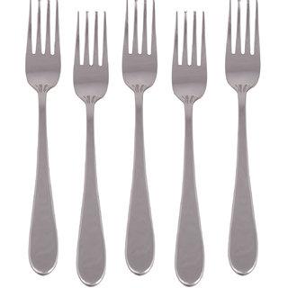 Kishco Stainless Steel Windsor Dessert Fork 6 Pcs Set
