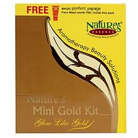 Nature's Mini Gold Kit + Free Face Wash