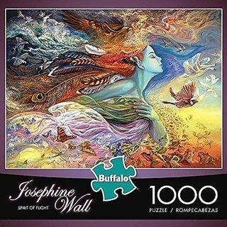 Buffalo Games Josephine Wall: Spirit of Flight - 1000 Piece Jigsaw Puzzle by Buffalo Games  Model: 11721  Toys & Play