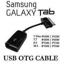 Tab OTG USB Cable Adapter For Samsung Galaxy Tab 10.1/8.9/P7500/P7510 Galaxy Tab 2 P3100