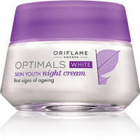 Optimals White Skin Youth Night Cream - 50ml