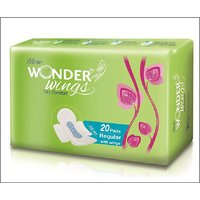 Wonder wings Dry comfort Regular ( Pack of 20 )