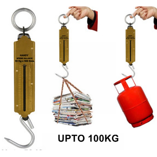 Handy Suspension weighing scale Machine   upto 100kg Capacity available at ShopClues for Rs.120