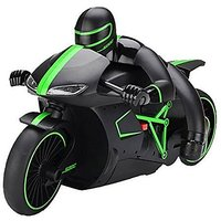 The Flyers Bay The Flyer'S Bay High Speed Professional Rc Motorcycle 2.4 Ghz Bike (Green)
