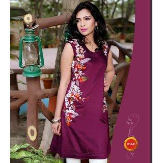 Girls  Women  Ladies Designer Cotton Silk Kurti  Kurta  Kurtis
