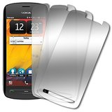 Nokia Pureview Screen Protector Cover, MPERO Nokia 808 PureView 3 Pack of Mirror Screen Protectors [MPERO Packaging]