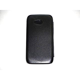 Karbonn Titanium S1+ Flip Cover Black available at ShopClues for Rs.167