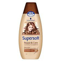 Schwarzkopf Supersoft Repair & Care Coconut Shampoo 400ml
