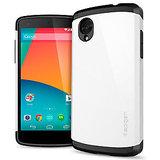 Spigen Slim Armor Case For Google LG Nexus 5 - White Color
