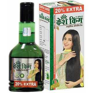 Kesh King Herbal Oil (set of 3 pcs.) 300 ml each