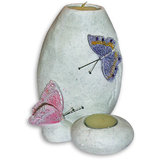P.R-Candle Holder With Butterfly (Design 1)