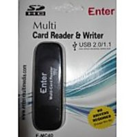 Enter Emc40 All In One Card Reader Black