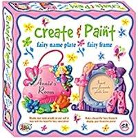Ekta Create And Paint Fairy Name Plate And Fairy Frame