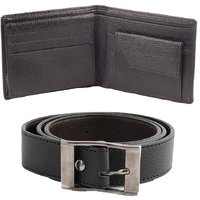 BB Men Belt Wallet Exclusive Combo BB1