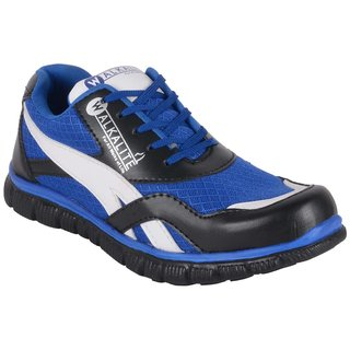 Walkalite Mens Blue color running Shoes