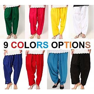 Sukuma Multicolor Cotton Salwar