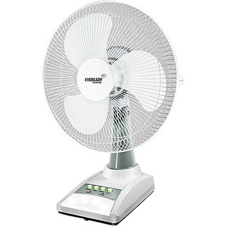 Eveready 14 inch RF03 Rechargeable Table Fan available at ShopClues for Rs.3499