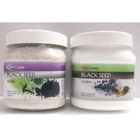 BIOCARE HERBAL BLACK SEED SCRUB & BLACK SEED VITAMIN E CREAM COMBO 500ml