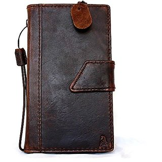 Genuine Leather Case for Nokia Lumia 1520 Flip Cover Wallet Handmade Hard Stand Magnet Free Shipping