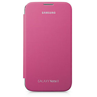 Samsung Galaxy Note 2 Flip Cover OG  Pink available at ShopClues for Rs.175