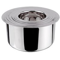 Grish Stainless Steel Round Bottom Patila - Set Of 9