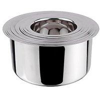 Grish Stainless Steel Round Bottom Patila - Set Of 9