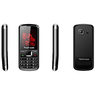 Vell-com X1i Heavy Battery Dual Sim Mobile Phone