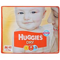 Huggies Dry Medium - 62 Pieces