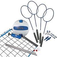 Verus Sports Champion 2-Game Volleyball/Badminton Set