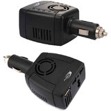 Car Power Multifunctional Inverter Outlet Adapter Charger (12V DC To 220V AC + 5V USB Port)